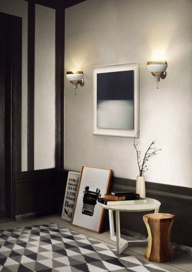 10 contemporary wall sconces for your living room living Contemporary wall sconces for living room