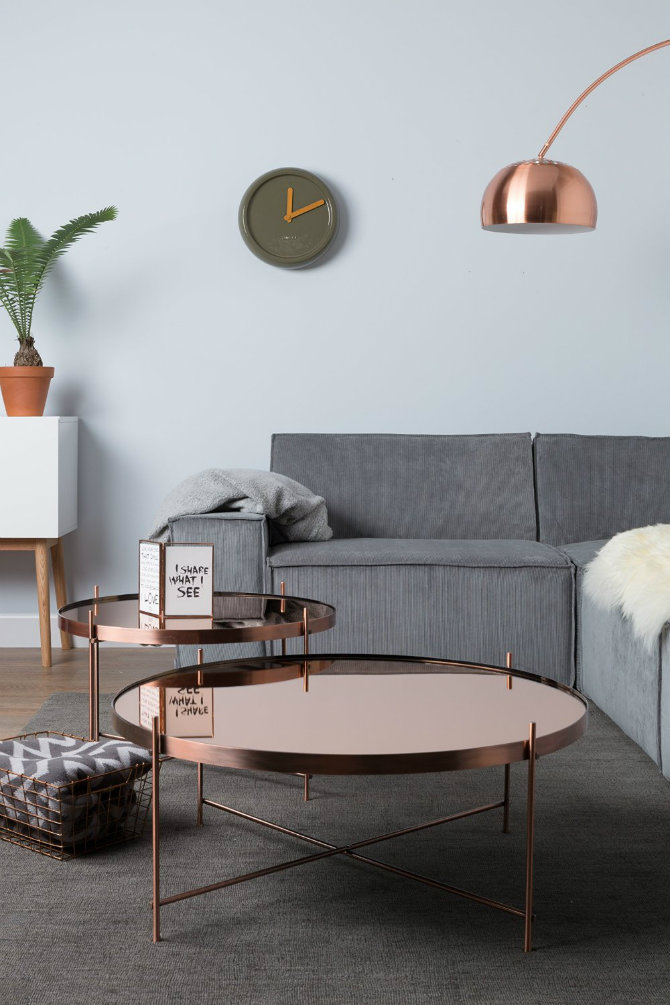 The Most Incredible Living Room Ideas Using Copper