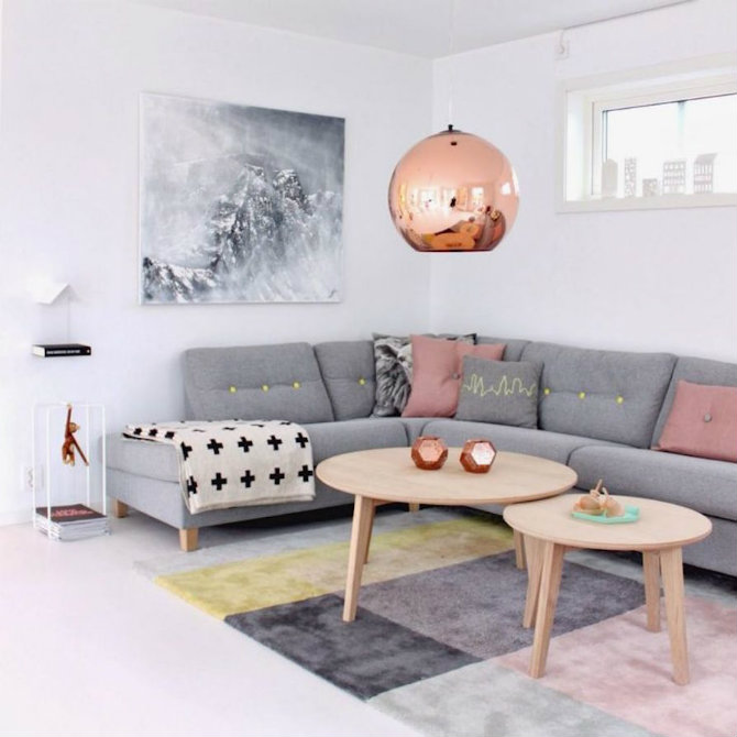 The Most Incredible Living Room Ideas Using Copper nordic style tom dixon