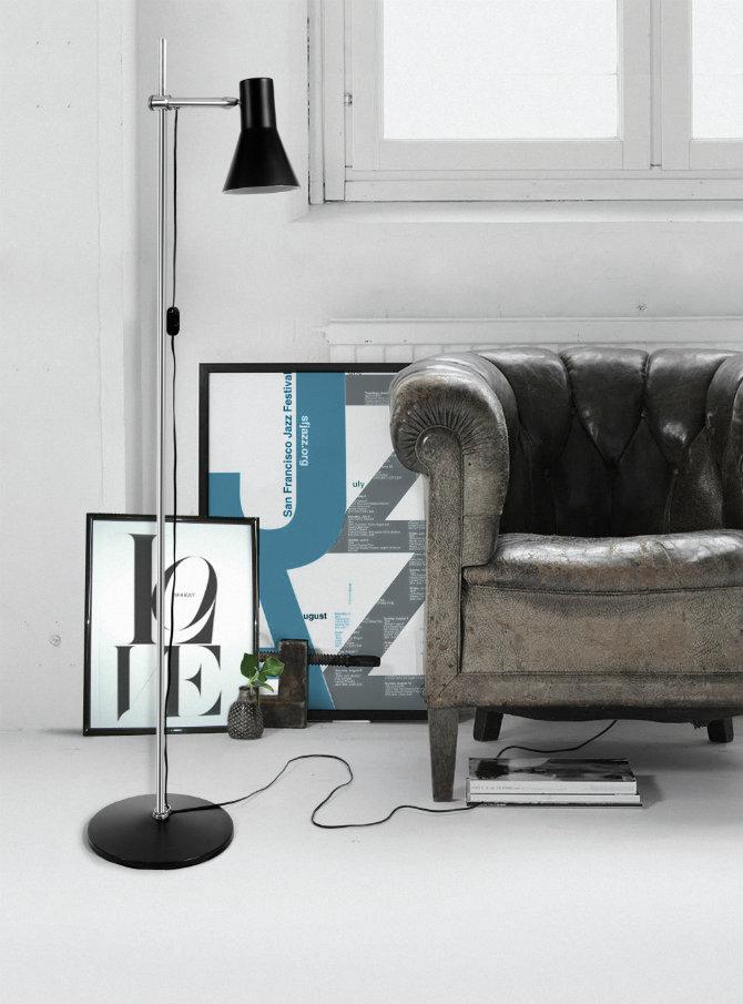 Feature floor lamps in your industrial style living area industrial floor lamp by delightfull