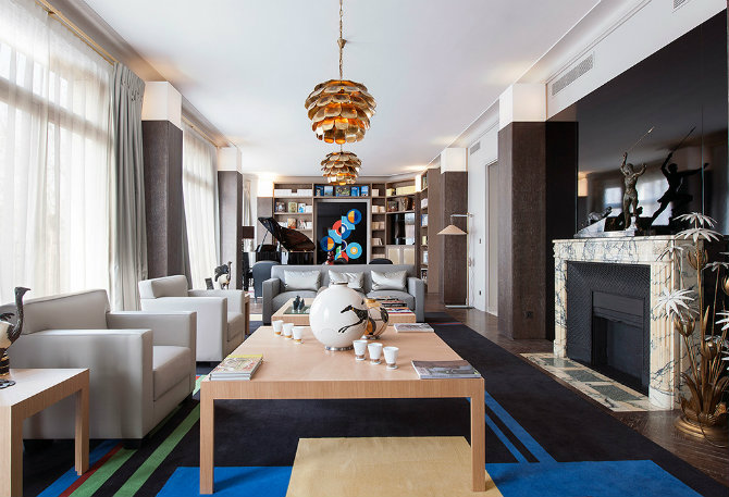 Living Room Design Ideas by Gerard Faivre Avenue Bosquet