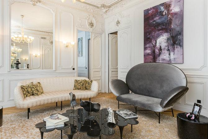 Living Room Design Ideas by Gerard Faivre Gérard Faivre Annya Sand Collaboration