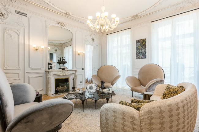 Living Room Design Ideas by Gerard Faivre Gérard Faivre Annya Sand Collaboration3