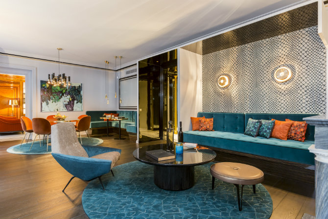 Living Room Design Ideas by Gerard Faivre l'appartement bonapart