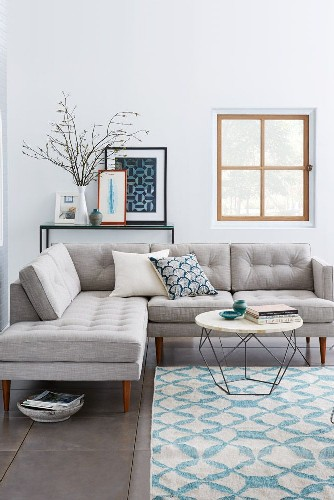 10 Living Room ideas for this Week Sectional Sofas, simplified.