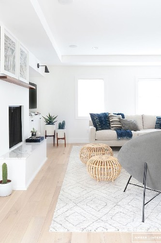 10 Living Room ideas for this Week before and after AMBER INTERIORS PHOTOS TESSA NEUSTADT