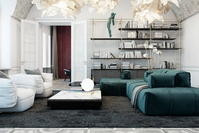 A luxury apartment in Italy with an incredible living room (1) living room A luxury apartment in Italy with an incredible living room A luxury apartment in Italy with an incredible living room 1