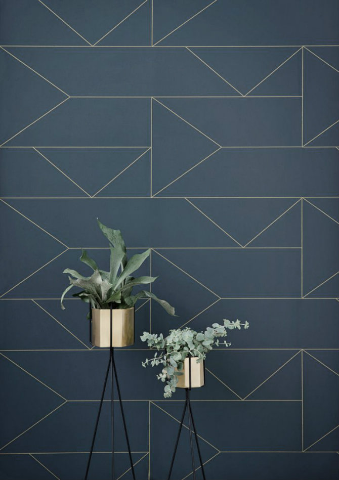 Patterned Wallpaper Solutions for Your Living Rooms Ideas