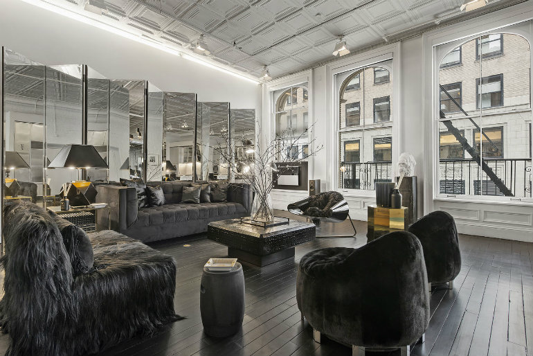 Living Roo Ideas of this Week Luxury and Elegance Alexander Wang's Industrial Tribeca Home living room ideas Living Room Ideas of this Week: Luxury and Elegance Living Room Ideas of this Week Luxury and Elegance Alexander Wang   s Industrial Tribeca Home