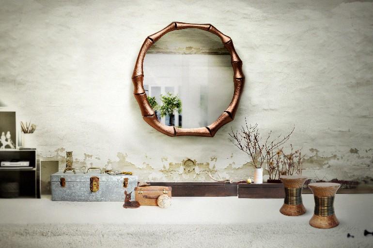 10 graceful livingroomideas with copper details brabbu
