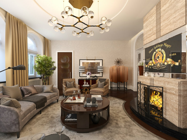 perfect living room. 2 LUXURY REAL ESTATE PROJECTS WITH PERFECT LIVING ROOMS  3 ROOM Luxury Real Estate Projects With Perfect Living Rooms