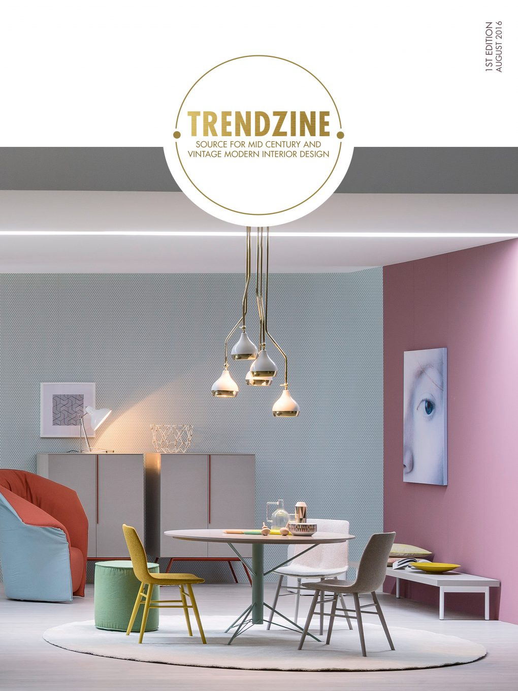 TRENDZINE: YOUR BRAND NEW INSPIRATION FOR CENTURY DESIGNS mid century design TRENDZINE: YOUR BRAND NEW INSPIRATION FOR MID CENTURY DESIGN imagem 1