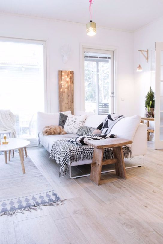 Living Rooms of the Week golden details and wood white + natural woods salon living living room ideas Living Room Ideas of the Week: golden details and wood Living Room Ideas of the Week golden details and wood white natural woods salon living