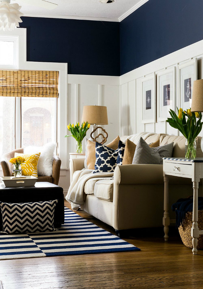 living rooms mix blue and yellow living room ideas Living Room Ideas: Mix Blue and Yellow living room ideas mix blue and yellow 2