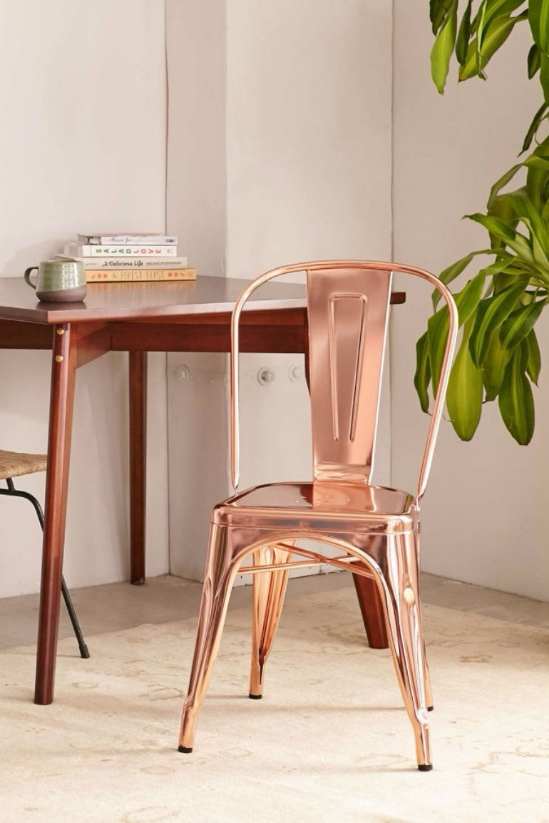 loom-ideas-for-the-fall-use-copper-furnishings-wren-metla-chair living room ideas Living Room Ideas for the Fall: Use Copper Furnishings Living Room Ideas for the Fall use copper furnishings wren metla chair