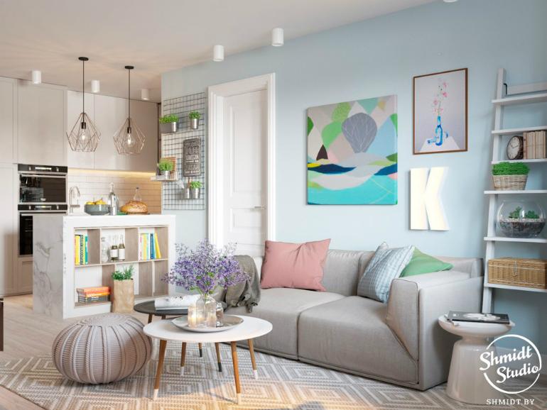 ModernLivingRoom Ideas by Shmidt Studio modern living room Modern Living Room Ideas by Shmidt Studio 009 ikea style interior smorgovskiy trakt minsk