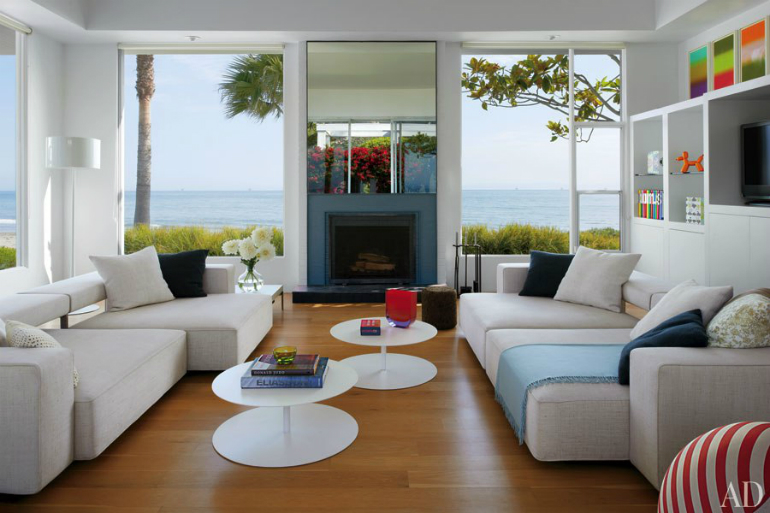 Incredible Modern Living Room Designs featured in Architectural Digest architectural digest Incredible Modern Living Room Designs featured in Architectural Digest Casa   pe plaja   i  n Santa Barbara 1