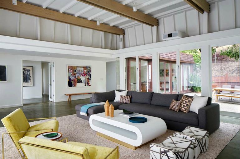Living Room Inspiration Mid Century Modern Home In Berkeley Hills Living Room Ideas