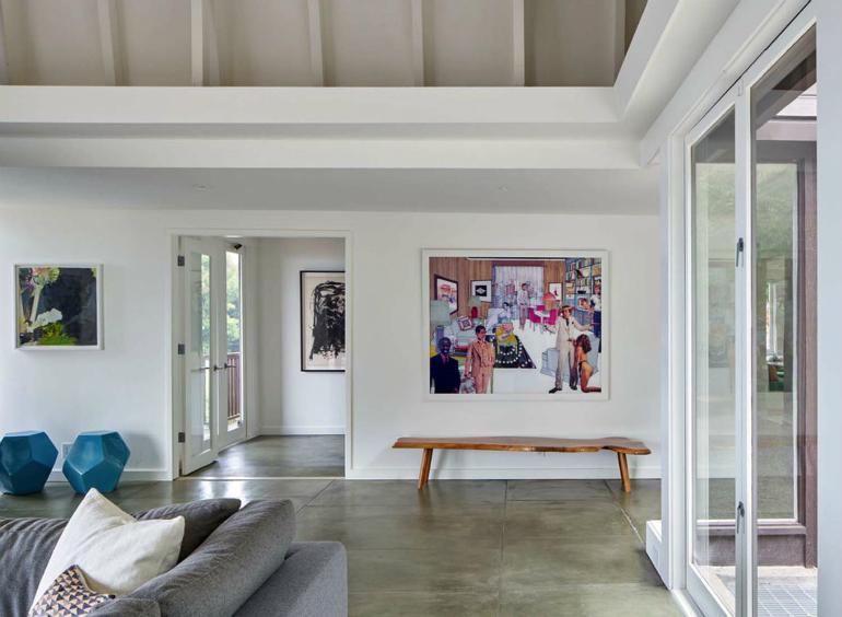 LivingRoom Inspiration: Mid-Century Modern Home in Berkeley Hills living room Living Room Inspiration: Mid-Century Modern Home in Berkeley Hills Mid Century Modern Residence YamaMar Design 07 1 Kindesign
