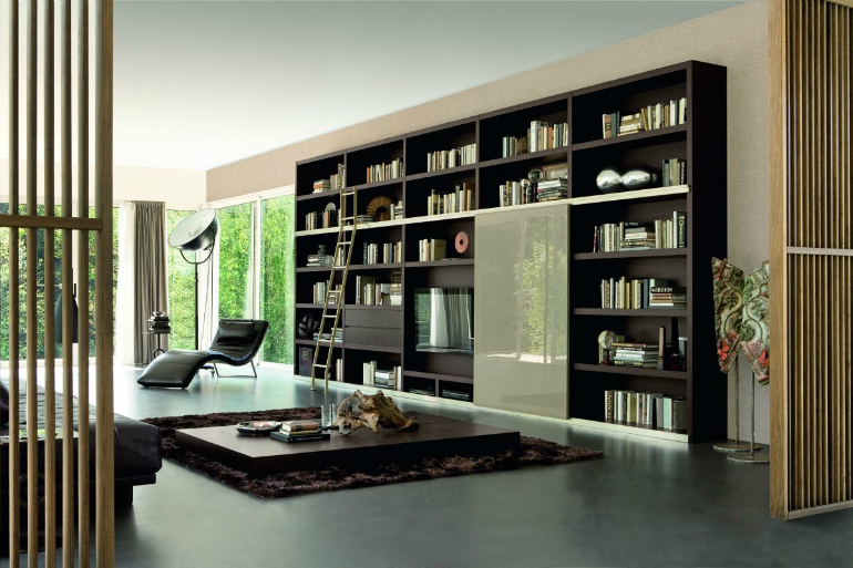 Fall Tips: Bring Your Library into Your LivingRoom living room Fall Tips: Bring Your Library into Your Living Room architecture art designs 2