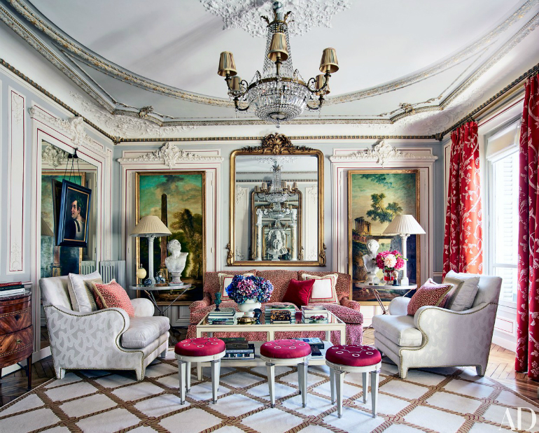Top Living Rooms from the Best Interior Designers' Houses interior designers Top Living Rooms from the Best Interior Designers' Houses corrigan paris apartment 01