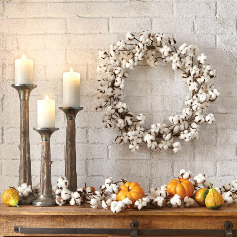 Welcome Fall into Your LivingRoom by Bringing the Outdoor In living room Welcome Fall into Your Living Room by Bringing the Outdoor In cotton