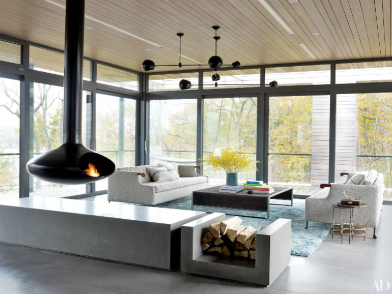 Incredible Modern Living Room Designs featured in Architectural Digest architectural digest Incredible Modern Living Room Designs featured in Architectural Digest fireplaces 11