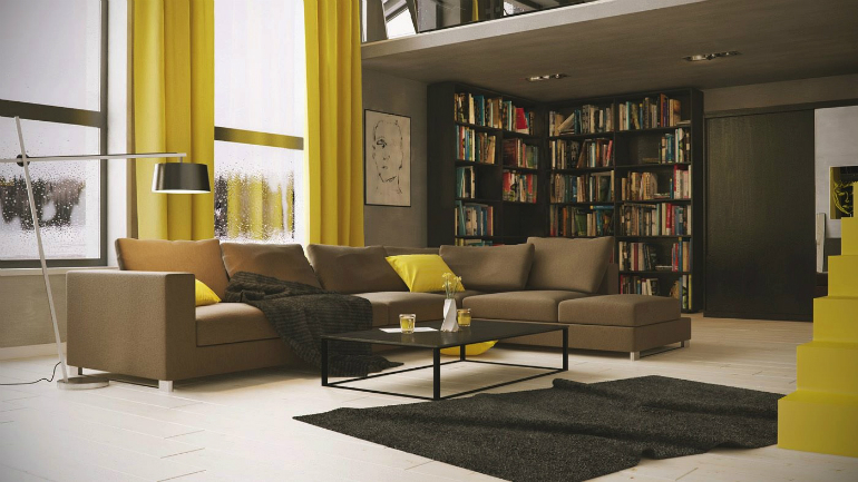Fall Tips: Bring Your Library into Your LivingRoom living room Fall Tips: Bring Your Library into Your Living Room home designing