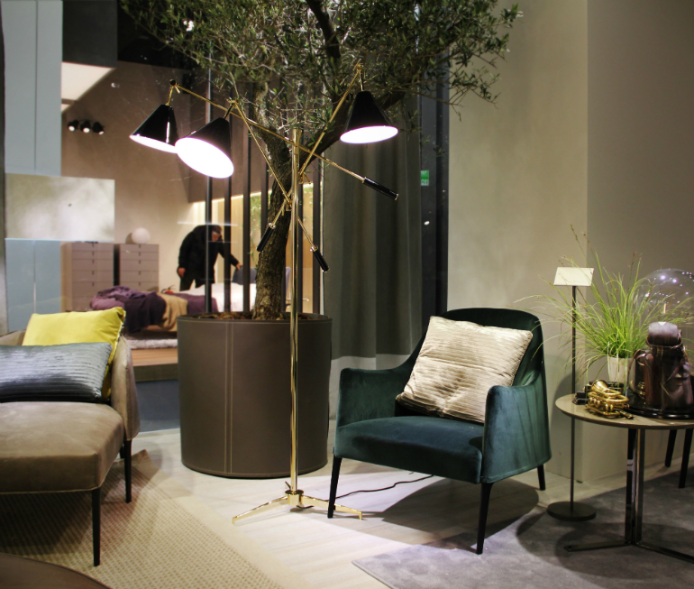 Living Room Opportunities: Mid-Century Lighting Designs Fall Campaign lighting designs Living Room Opportunities: Mid-Century Lighting Designs Fall Campaign imm cologne 2014 frigerio partner 02 sinatra standing lamp