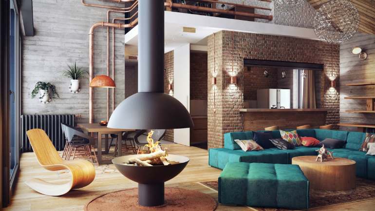 10 Industrial LivingRoomIdeas That You Will Love living room ideas 10 Industrial Living Room Ideas That You Will Love industrial design 4