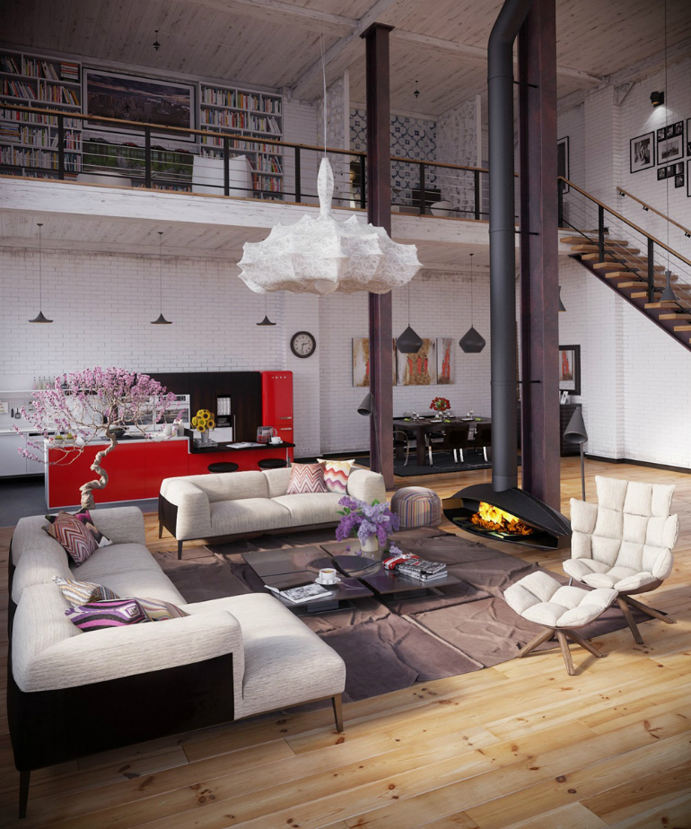 10 Industrial Living Room Ideas That You Will Love living room ideas 10 Industrial Living Room Ideas That You Will Love industrial design 9