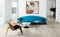 10 Inspiring Modern Apartment Designs with Mid-Century Living Rooms