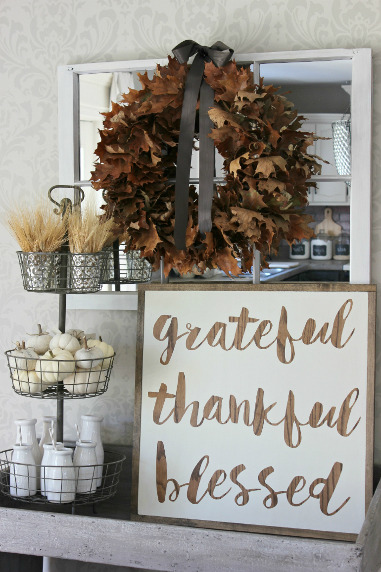 Welcome Fall into Your LivingRoom by Bringing the Outdoor In living room Welcome Fall into Your Living Room by Bringing the Outdoor In leaf wreath2