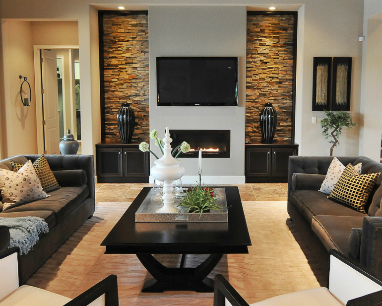 Mid-century Modern Living Room Ideas Using Marble and Stone living room ideas Mid-century Modern Living Room Ideas Using Marble and Stone marble5