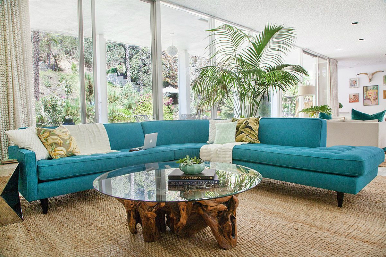 The Best Mid-Century and Contemporary Sofas for Your LivingRoom living room The Best Mid-Century and Contemporary Sofas for Your Living Room turquoise