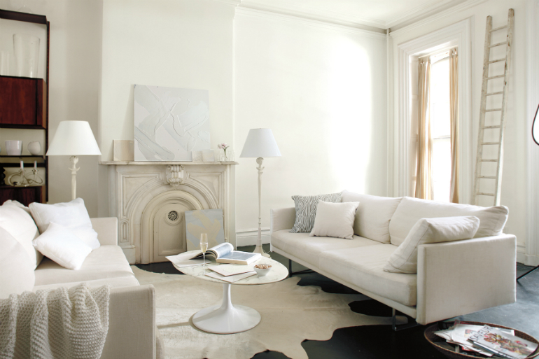 The Best Colors for Your LivingRoom this Fall living room The Best Colors for Your Living Room this Fall white