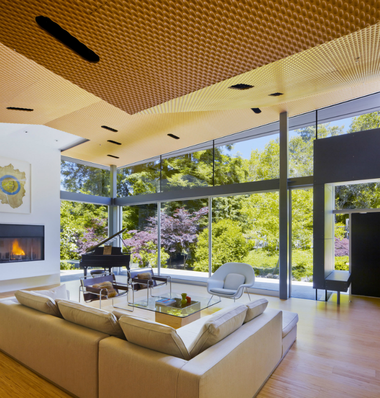 Living Room Inspiration: California Modern Home Design modern home Living Room Inspiration: California Modern Home Design 07 Ross