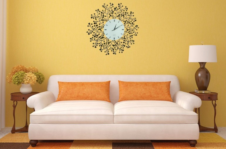 Elevate Your Living Room Design by Using Clocks – Living Room Ideas