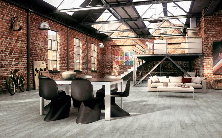 Industrial Living Rooms with Eccentric Brick Walls brick walls Industrial Living Rooms with Eccentric Brick Walls Industrial Living Rooms with Eccentric Brick Walls 1