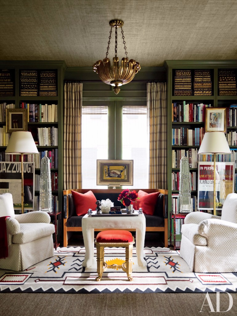Home Library Room: Living Room Ideas: Vintage Home Libraries