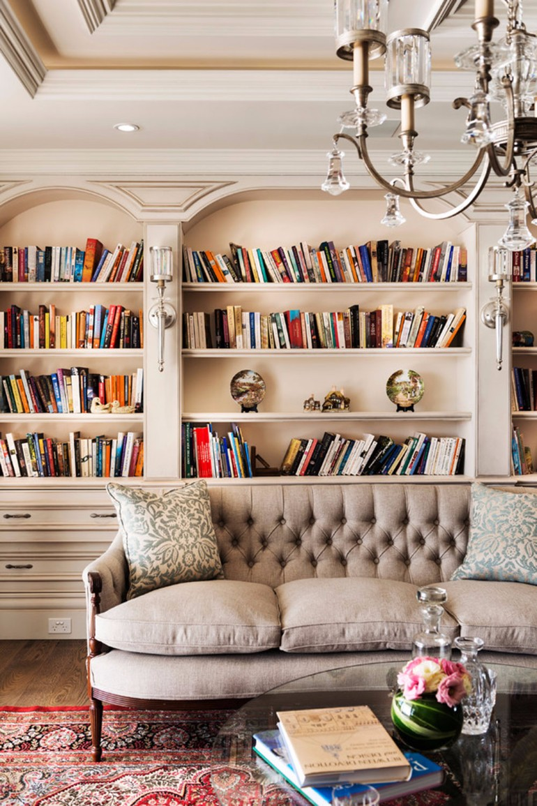 Living Room Ideas: Vintage Home Libraries home libraries Living Room Ideas: Vintage Home Libraries Living Room Ideas Vintage Home Libraries 4