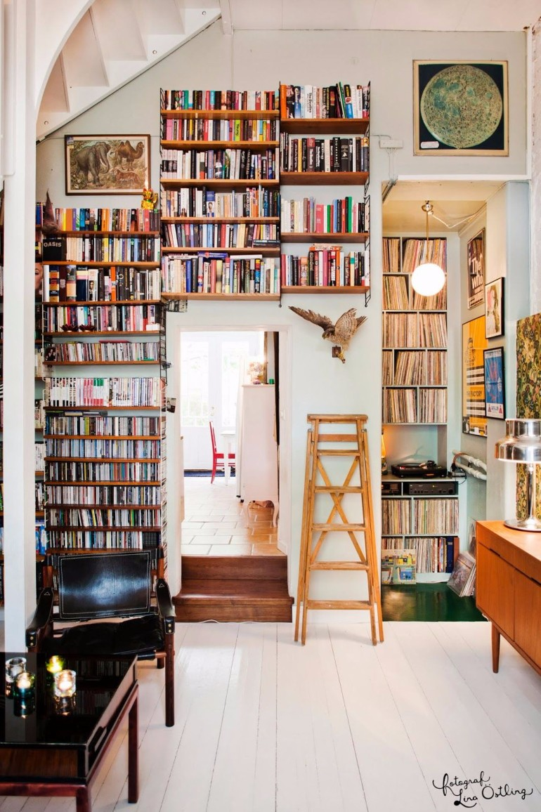 Living Room Ideas: Vintage Home Libraries home libraries Living Room Ideas: Vintage Home Libraries Living Room Ideas Vintage Home Libraries 8