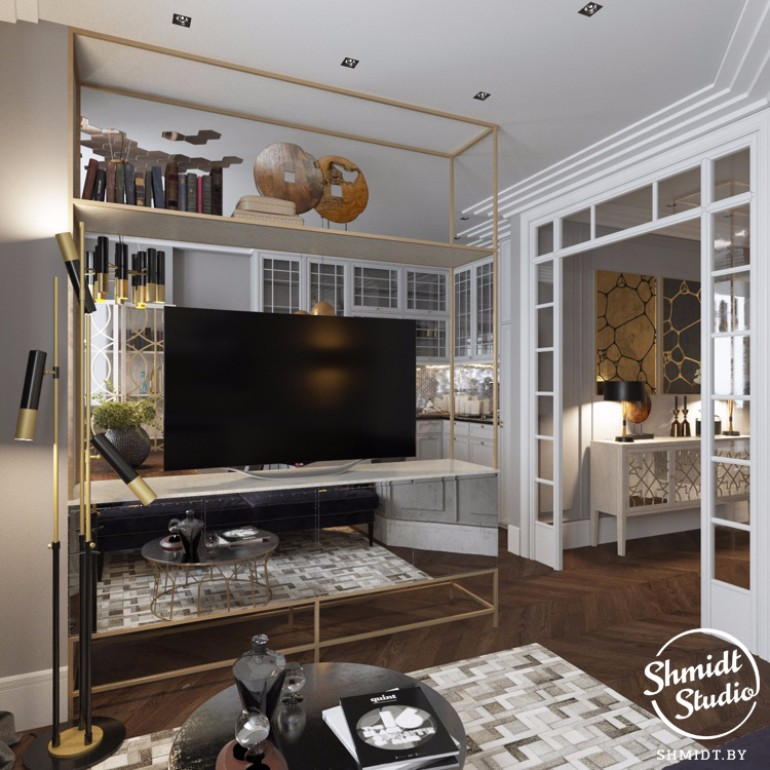 Modern Home with DelightFULL Living Room
