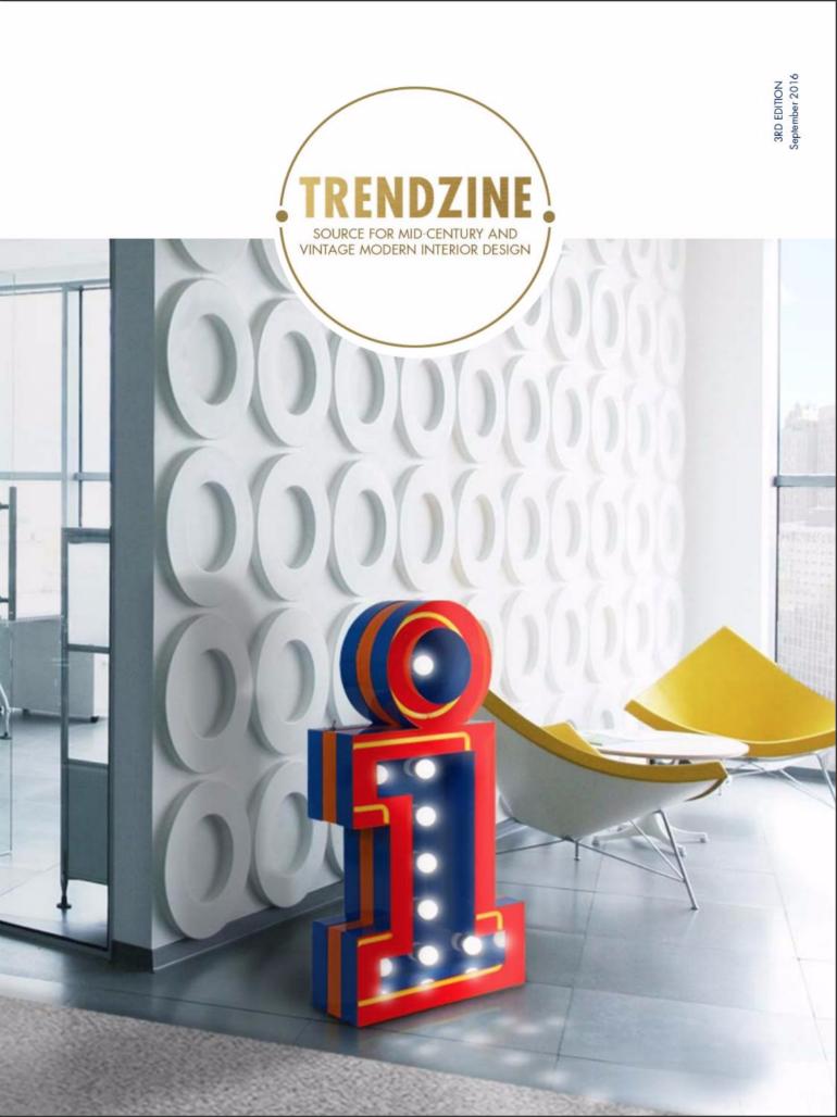 TRENDZINE: The Best Online Mid-Century Design Magazine design magazine TRENDZINE: The Best Online Mid-Century Design Magazine trendzine 3