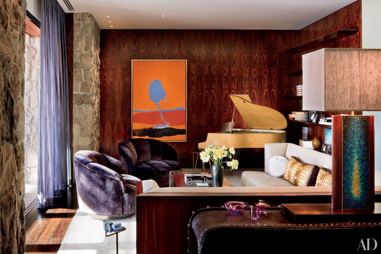 Jennifer Aniston's Mid-Century Modern Living Room in Beverly Hills mid-century modern living room Meet Jennifer Aniston Mid-Century Modern Living Room in Beverly Hills Jennifer Aniston   s Mid Century Modern Living Room in Beverly Hills 2