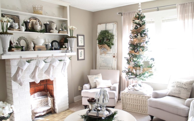 Living Room Ideas for a Very Scandinavian Christmas scandinavian christmas Living Room Ideas for a Very Scandinavian Christmas Living Room Ideas for a Very Scandinavian Christmas 2