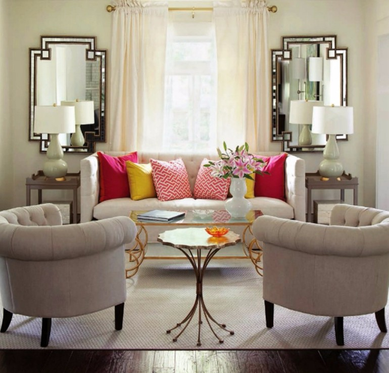 Modern Living Room Mirrors To Elevate Your Interior Design Living Room Ideas