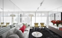 Modern Living Room Mirrors to Elevate Your Interior Design