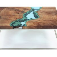 Stunning Coffee Tables Designed to Look Like Ethereal Rivers
