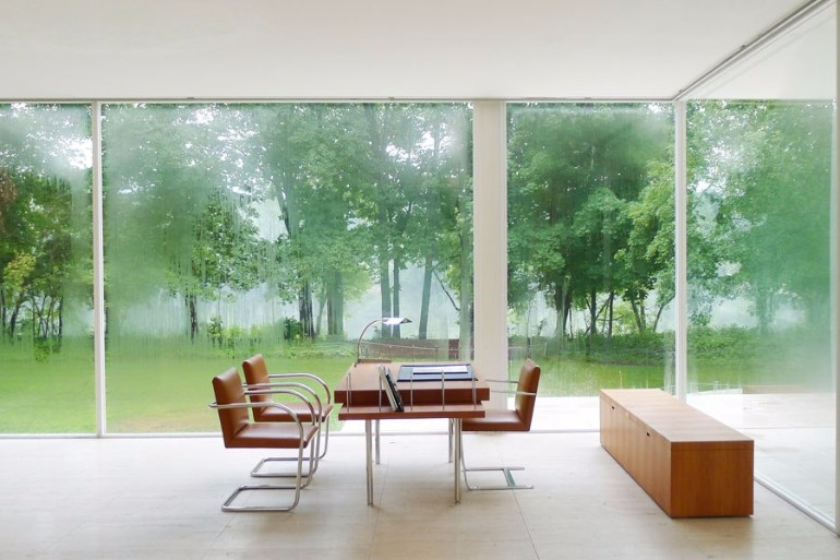 A Modern Icon Farnsworth House The Farnsworth House: A Modern Icon With A  Minimalist Living